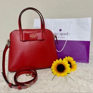 NWT Kate spade maise matthews street red carpet
